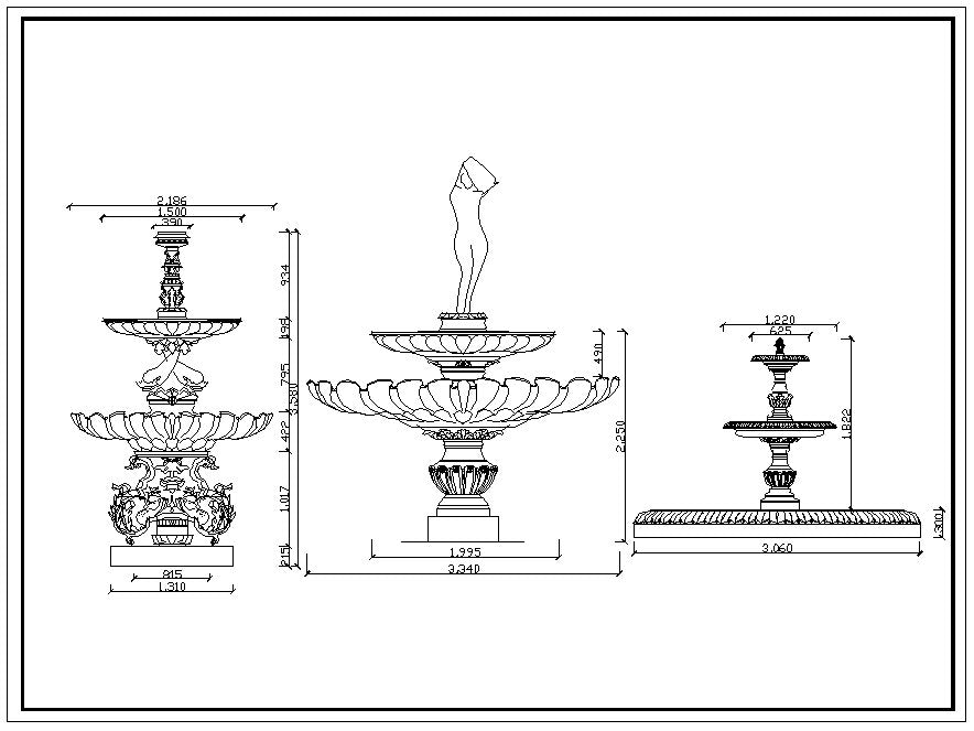 Autocad blocks of decorative elements, ornaments, works of art, statues, doors and gates, lamps, doors, windows, gates ceiling center, sculptures. The drawings are in dwg and dxf format. deco decoration iron works sculptures art decor design