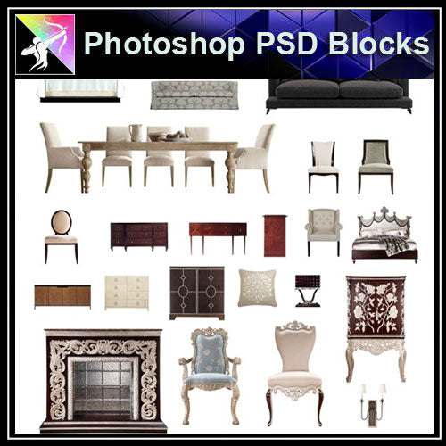Home Design Ideas Elevation:  Photoshop PSD Blocks Interior Design PSD Blocks 2