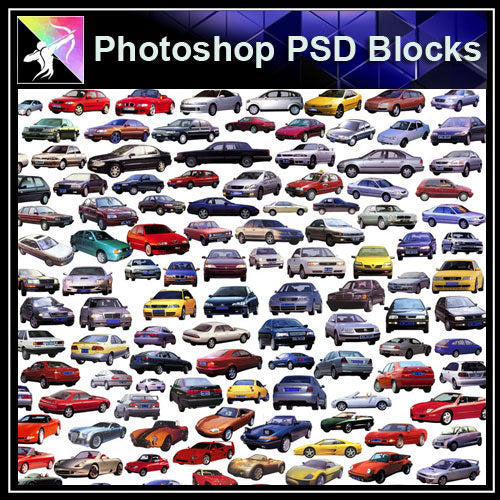 【Photoshop PSD Blocks】Car,Transportation PSD Blocks 2