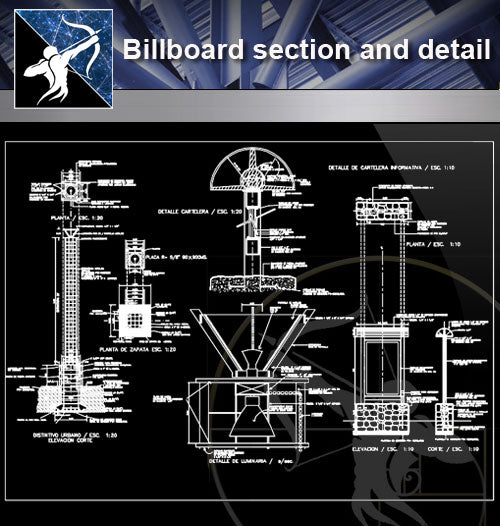 【Architecture Details】Billboard section and detail