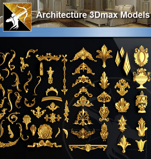 ★Download 3D Max Decoration Models V.1