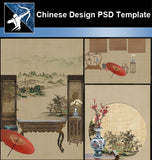 ★Download Chinese Design PSD Template V.1 - Architecture Autocad Blocks,CAD Details,CAD Drawings,3D Models,PSD,Vector,Sketchup Download