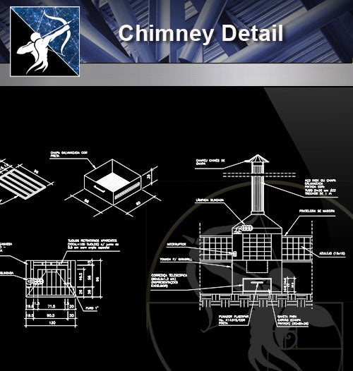【Architecture Details】Chimney Detail