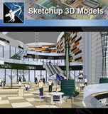 ★Sketchup 3D Models-Business Building Sketchup Models 9 - Architecture Autocad Blocks,CAD Details,CAD Drawings,3D Models,PSD,Vector,Sketchup Download