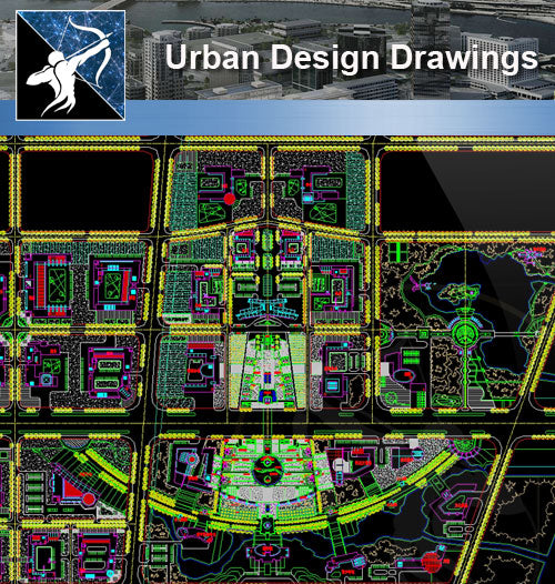 ★Urban Design-Landscape CAD Drawings V.2 - Architecture Autocad Blocks,CAD Details,CAD Drawings,3D Models,PSD,Vector,Sketchup Download