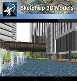 ★Sketchup 3D Models-Business Building Sketchup Models 22 - Architecture Autocad Blocks,CAD Details,CAD Drawings,3D Models,PSD,Vector,Sketchup Download