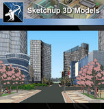 ★Sketchup 3D Models-Business Building Sketchup Models 8