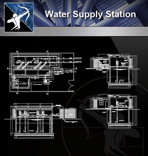 【Sanitations Details】Water Supply Station
