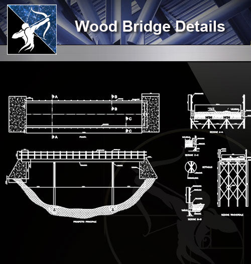 【Bridge Details】Wood Bridge