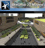 ★Sketchup 3D Models-Business Building Sketchup Models 7