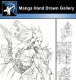 ★ Anime and Manga Hand Drawn Gallery - Architecture Autocad Blocks,CAD Details,CAD Drawings,3D Models,PSD,Vector,Sketchup Download