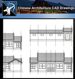 ★Chinese Architecture CAD Drawings-Chinese Courtyard - Architecture Autocad Blocks,CAD Details,CAD Drawings,3D Models,PSD,Vector,Sketchup Download