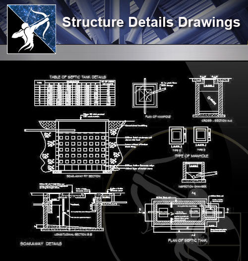 【Architecture Details】Structure Details Drawings