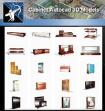 ★AutoCAD 3D Models-Cabinet Autocad 3D Models - Architecture Autocad Blocks,CAD Details,CAD Drawings,3D Models,PSD,Vector,Sketchup Download