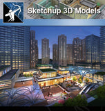 ★★Sketchup 3D Models--Architecture Concept Sketchup Models - Architecture Autocad Blocks,CAD Details,CAD Drawings,3D Models,PSD,Vector,Sketchup Download