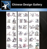 ★★Chinese Design Gallery Free download-Tree Gallery - Architecture Autocad Blocks,CAD Details,CAD Drawings,3D Models,PSD,Vector,Sketchup Download