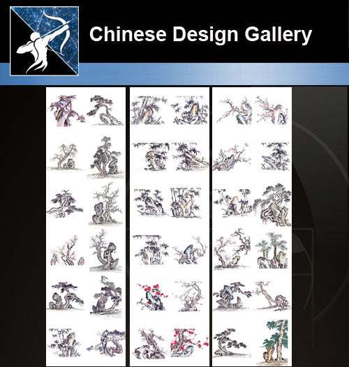 ★★Chinese Design Gallery Free download-Tree Gallery