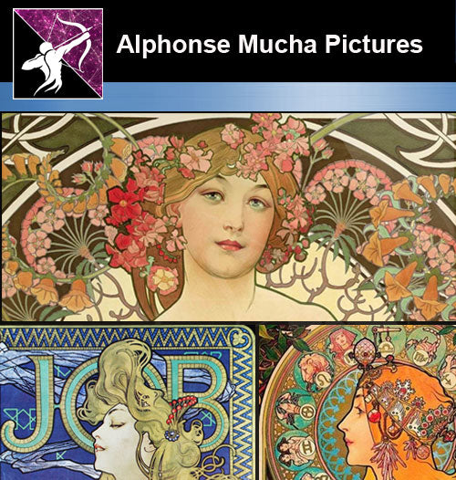 ★Download Alphonse Mucha Pictures-High resolution picture V.1