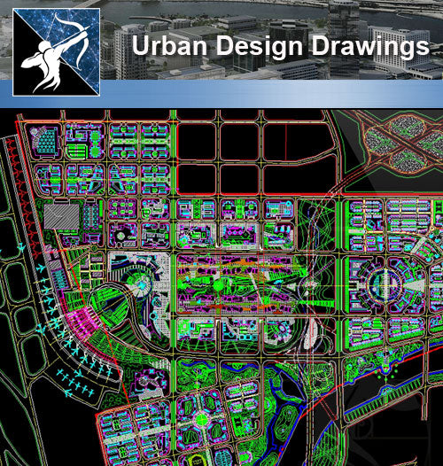 ★Urban Design-Landscape CAD Drawings V.1 - Architecture Autocad Blocks,CAD Details,CAD Drawings,3D Models,PSD,Vector,Sketchup Download