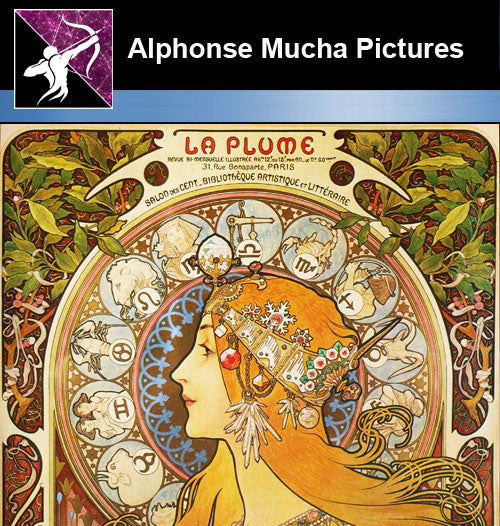 ★Download Alphonse Mucha Pictures-High resolution picture V.2