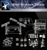 【Steel Structure Details】Steel Structure Details Collection V.5