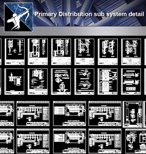 【Architecture Details】Primary Distribution sub system detail