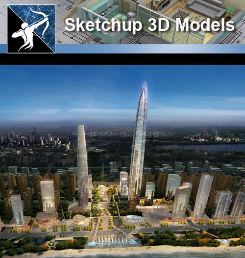 ★★Sketchup 3D Models--Architecture Concept Sketchup Models 23 - Architecture Autocad Blocks,CAD Details,CAD Drawings,3D Models,PSD,Vector,Sketchup Download