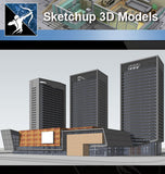 ★Sketchup 3D Models-Large Scale City Sketchup Models 2 - Architecture Autocad Blocks,CAD Details,CAD Drawings,3D Models,PSD,Vector,Sketchup Download