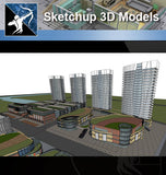 ★★Sketchup 3D Models--Architecture Concept Sketchup Models 2 - Architecture Autocad Blocks,CAD Details,CAD Drawings,3D Models,PSD,Vector,Sketchup Download