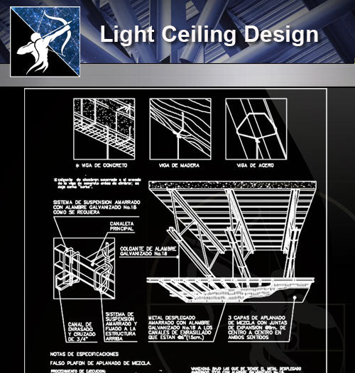 【Light Ceiling Design】 - Architecture Autocad Blocks,CAD Details,CAD Drawings,3D Models,PSD,Vector,Sketchup Download