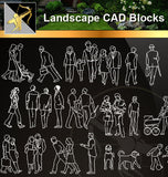 ★Landscape CAD Blocks -People Plan,elevation ,Handicap facilities CAD Blocks - Architecture Autocad Blocks,CAD Details,CAD Drawings,3D Models,PSD,Vector,Sketchup Download
