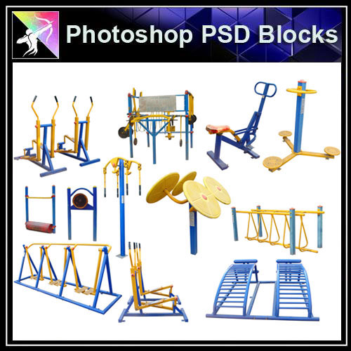 【Photoshop PSD Blocks】Facilities for children PSD Blocks 2