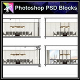 ★Interior Design Plan & Elevation Elements-Photoshop PSD Blocks V.18 - Architecture Autocad Blocks,CAD Details,CAD Drawings,3D Models,PSD,Vector,Sketchup Download
