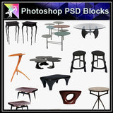 【Photoshop PSD Blocks】Sofa & Chair PSD Blocks V.4 - Architecture Autocad Blocks,CAD Details,CAD Drawings,3D Models,PSD,Vector,Sketchup Download