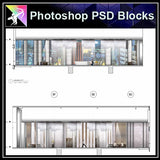 ★Interior Design Plan & Elevation Elements-Photoshop PSD Blocks V.19 - Architecture Autocad Blocks,CAD Details,CAD Drawings,3D Models,PSD,Vector,Sketchup Download
