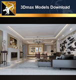 ★Download 3D Max Decoration Models -Living Room V.8