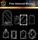 ★Free CAD Blocks-Mirror Blocks - Architecture Autocad Blocks,CAD Details,CAD Drawings,3D Models,PSD,Vector,Sketchup Download