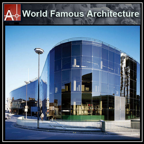 【Famous Architecture Project】Willis Faber & Dumas Headquarters-Norman Foster-Architectural CAD Drawings - Architecture Autocad Blocks,CAD Details,CAD Drawings,3D Models,PSD,Vector,Sketchup Download