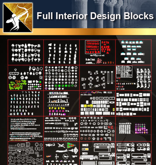 ★Full Interior Design Blocks 2