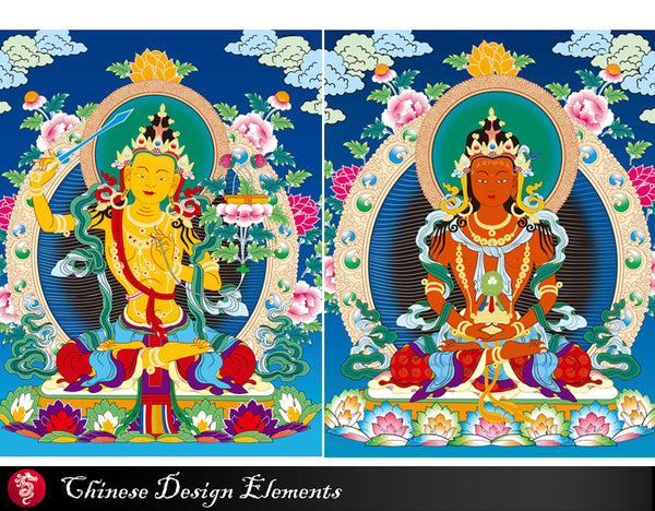 "★Free Download ""Buddha,Bodhisattwa"" EPS clipart,vector file,eps vector,Digital Download Art for Invitations,Prints,Crafts.."