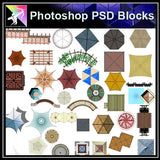 Photoshop PSD Landscape Pavilion Blocks - Architecture Autocad Blocks,CAD Details,CAD Drawings,3D Models,PSD,Vector,Sketchup Download