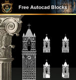 ★Free CAD Drawings-Architecture Drawings V.2 - Architecture Autocad Blocks,CAD Details,CAD Drawings,3D Models,PSD,Vector,Sketchup Download