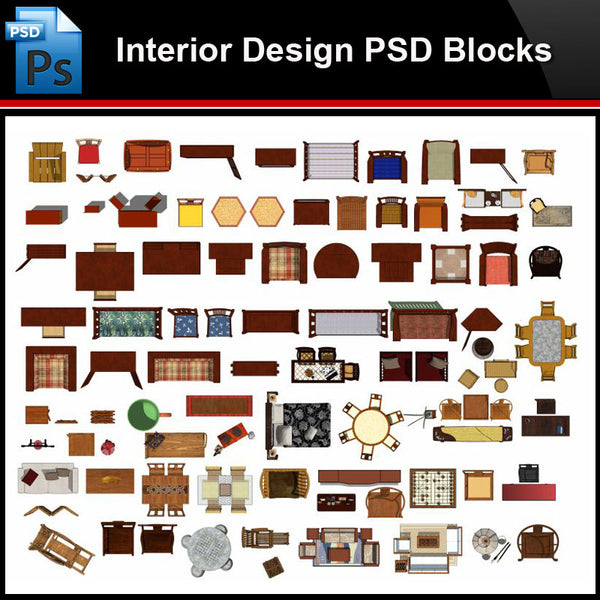 ★Photoshop PSD Blocks-Interior Design PSD Blocks-Chinese furniture PSD Blocks - Architecture Autocad Blocks,CAD Details,CAD Drawings,3D Models,PSD,Vector,Sketchup Download