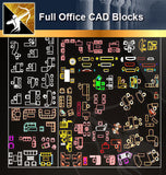 ★Full Office Table Blocks - Architecture Autocad Blocks,CAD Details,CAD Drawings,3D Models,PSD,Vector,Sketchup Download
