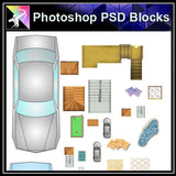 【Photoshop PSD Blocks】Landscape Blocks