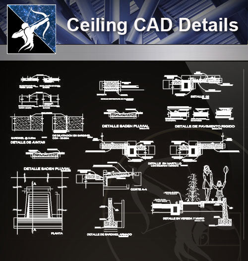 【 Floor Details】Floor CAD Details Collection - Architecture Autocad Blocks,CAD Details,CAD Drawings,3D Models,PSD,Vector,Sketchup Download