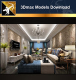 ★Download 3D Max Decoration Models -Living Room V.6