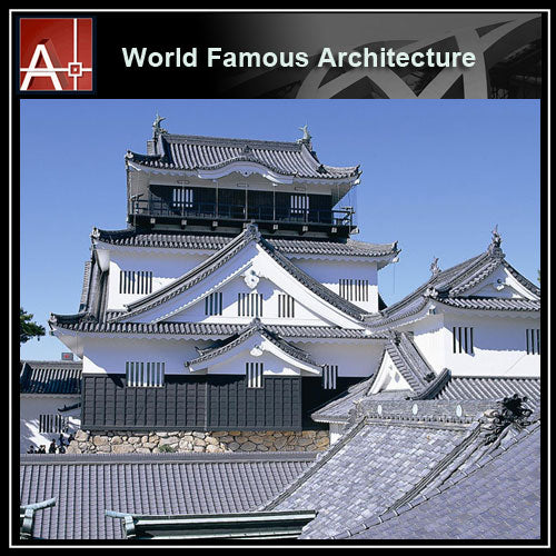 【Famous Architecture Project】Okazaki Castle Sketchup 3D model-Architectural 3D SKP model - Architecture Autocad Blocks,CAD Details,CAD Drawings,3D Models,PSD,Vector,Sketchup Download