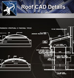 【Roof Details】Free Roof Details 4 - Architecture Autocad Blocks,CAD Details,CAD Drawings,3D Models,PSD,Vector,Sketchup Download