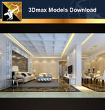 ★Download 3D Max Decoration Models -Living Room V.7
